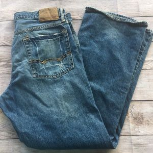 Men's American Eagle Bootcut Jeans Size 34x32